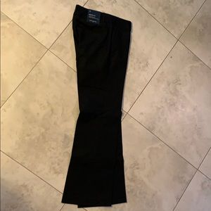 NWT Banana Republic Factory Size 2P Black Trousers